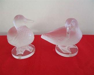 Crystal ducks