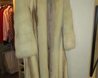 Christian Dior mink coat