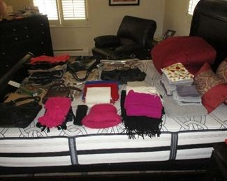 Purses, scarves and accessories