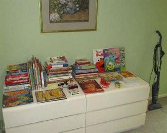 Dressers and children's books