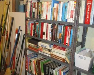 Books and Garage items