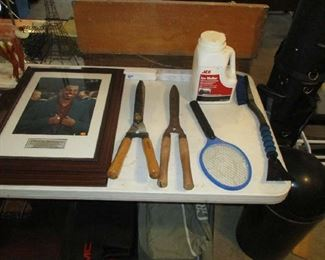 Yard tools and golf items