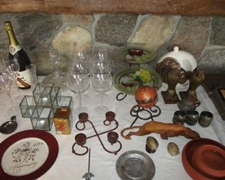 Household and glassware