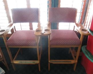 Pool table stools