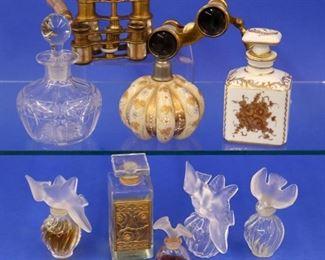 Perfume Bottles, Opera Glasses