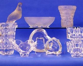 Verlys glass & Orrefors glass