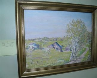 PAINTED BY MANISTEE ARTIST JOSEPH TREVITTS