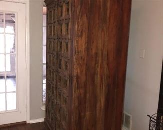 Old World Style Armoire Purchase at Anderson Furniture Southlake, TX.