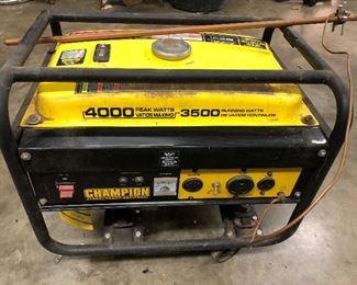 Champion 4000-3500 Generator