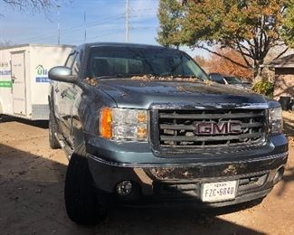 2008 GMC Sierra Texas Edition Crew Cab Pickup With Aftermarket Rims