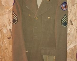 Very nice old military uniform in beautiful condition!