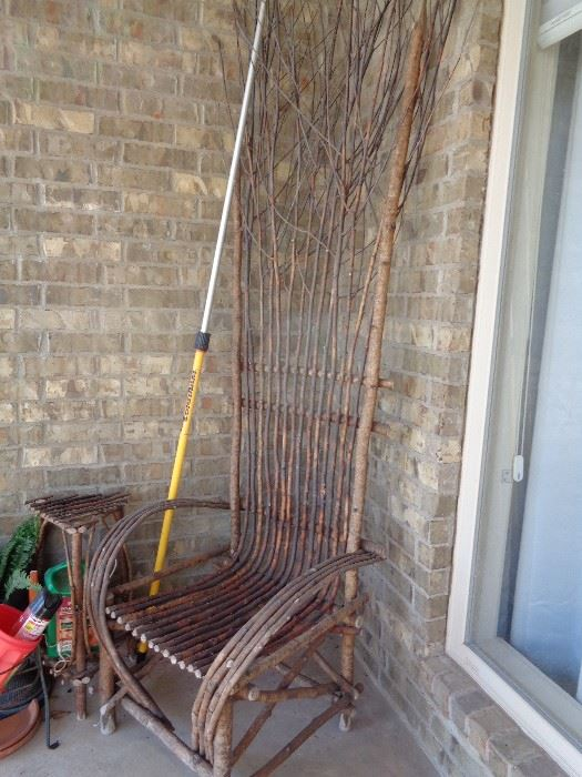 Love this twig chair
