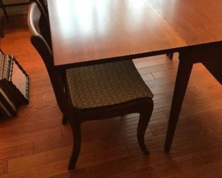 4 cherry dining chairs