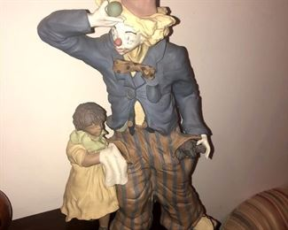 Lladro sculpture designed and signed by Enrique Sanisidro.