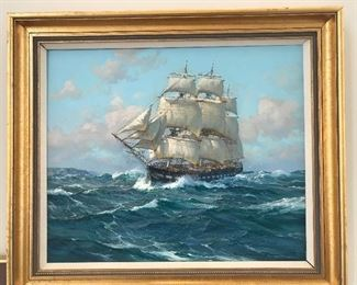 Charles Vickery (1913-1989) Original Oil ***Not Included In Discounted Pricing***