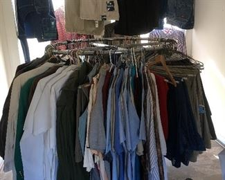 3x and 4x shirts 48x32, 50x32, 52x32 pants  IZOD, CHAP, POLO, Alexander Lloyd  Saddlebred, Dockers, Dickies,Wrangler, Van Heusen,