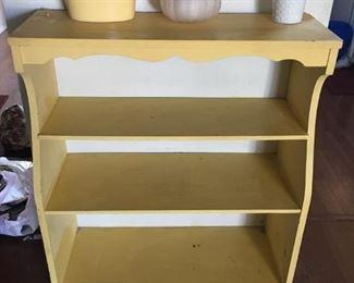 Yellow Bookcase