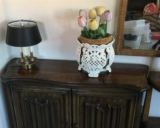 Vintage Cabinet w/shelves