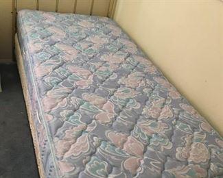 Twin Brass Bed - Twin Mattress Set