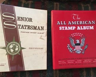 Misc. Postage Stamps & Books