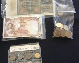 Foreign Currency & Coins