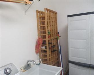 Wine and wine racks