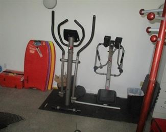 More on the exercise machines