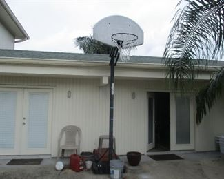 Another view of Basketball goal