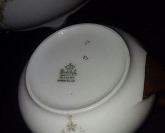 Rosenthal BavarIan China.  Donatello pattern.