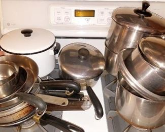 Lots of pots and pans