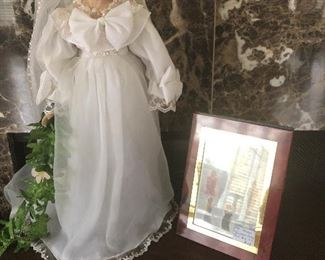 Princess Diana doll - wedding dress