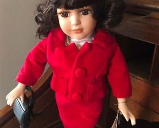 Jackie Kennedy doll