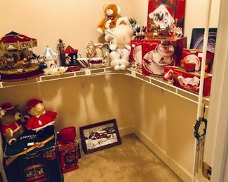 Our Christmas closet