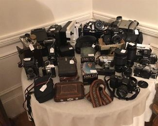 Antique to Vintage, to current cameras!