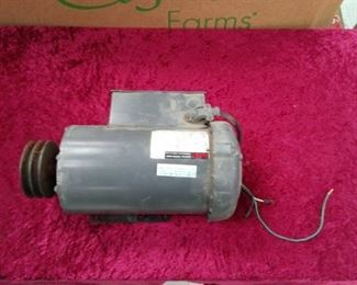 2 HP. AJAX Electric Motor Model ZZK56B17F5504E  P General Purpose
