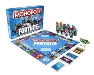 Monopoly Fortnite Sealed New