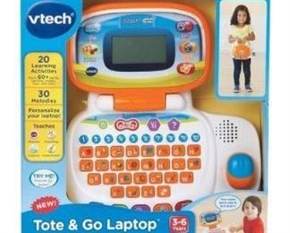 V-Tech Tote & Go Laptop Tested Fully Functioning