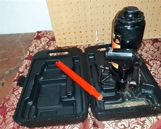 6T Hydraulic Bottle Jack in Carry Case