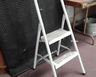 Two Step Metal Step Stool