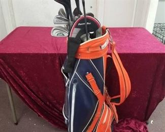 Bag & Golf Clubs Set