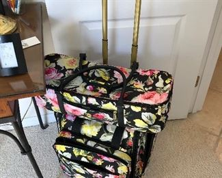 Almost new craft luggage