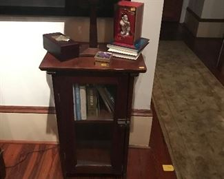 Nice latched side table