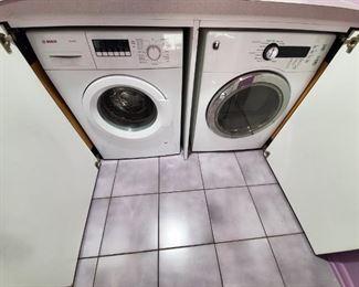 Bosch Washing Machine GE Dryer