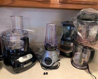 Many new kitchen appliances