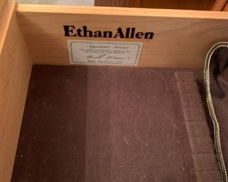 #16Ethan Allen Buffet w/ 2 drawers and 2 doors 40x19x33 $125.00