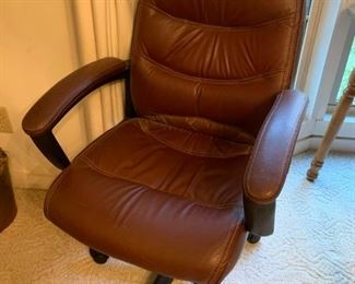#18(2) Brown executive chair @ 30 each