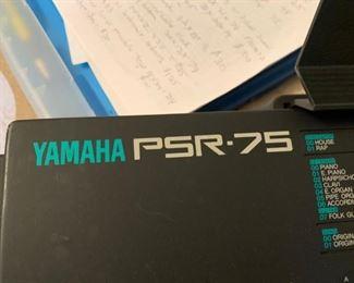 #19Yamaha PSR 75 Keyboard  $65.00