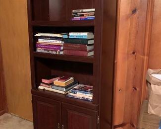 #46Laminate bookcase  $20.00