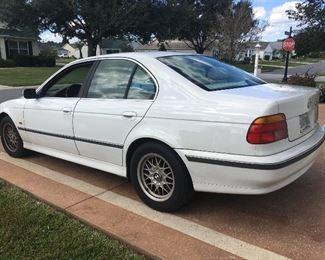 1999 BMW 528i, 303,000 miles, body work needed. $700.00