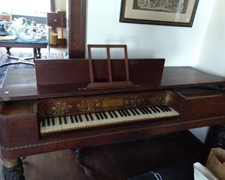 Firth & Hall Spinet Piano